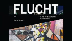 Vernissage - Flucht - eine Ausstellung von Martin Ivicevic @ FMP1