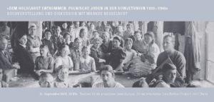 »Dem Holocaust entkommen.« – Buchvorstellung und Diskussion @ Ort der Information