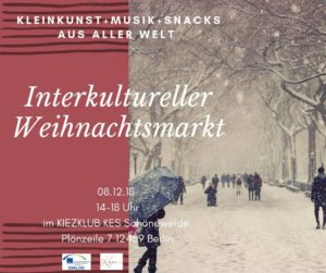 Interkultureller Weihnachtsmarkt @ Kiezclub KES | Berlin | Berlin | Deutschland