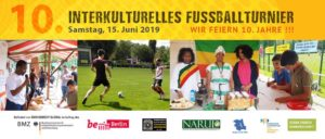 10. Interkulturelles Fußballturnier @ Sportanlage Lüderitzstraße