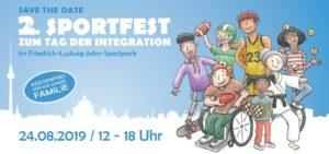 Sportfest zum Tag der Integration @ Friedrich-Ludwig-Jahn-Sportpark