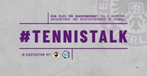 TennisTalk (2): Kein Platz für Diskriminierung? @ Facebook:Tennis Borussia Berlin